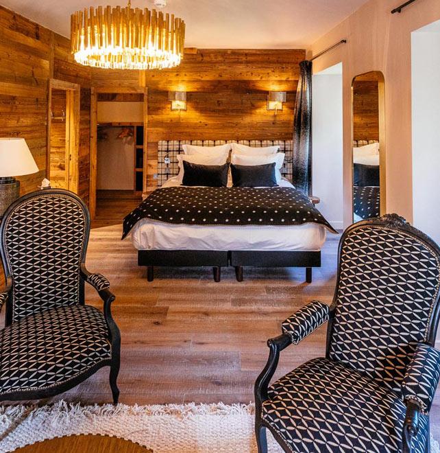 chambre hotel vaujany cosy