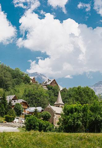 vaujany village